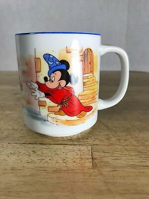 Pair of Vintage Walt Disney World Mugs Japan Made Mickey Mouse land