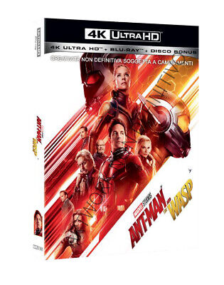 Film - Ant-man And The Wasp - 2 Dvd (4k -  blu-ray)