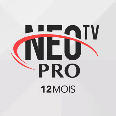 Neo Tv Pro IPTV Subscription For 12 Months Compatible with most Devices &Systems