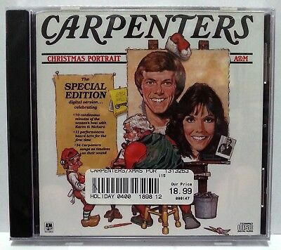 Carpenters Christmas Portrait Special Edition Cd 34 Songs In Total 11 New 70 Min