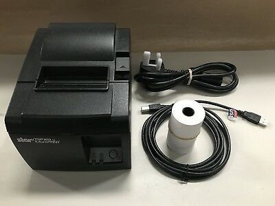 Star TSP100 FuturePrint Thermal POS Receipt USB Printer with Cutter & PSU