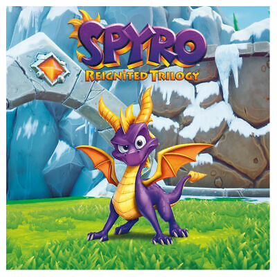 PlayStation 4 : Spyro Reignited Trilogy (PS4) VideoGames FREE Shipping, Save £s