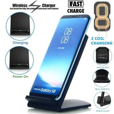 10W Wireless Charger QI Wireless Charger Fast Charging Galaxy S8/9 iPhone 8/8P/X