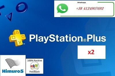 PS PLUS 1 Month (2x14) DAY TRIAL - PS4 - PS3 - (NO CODE)