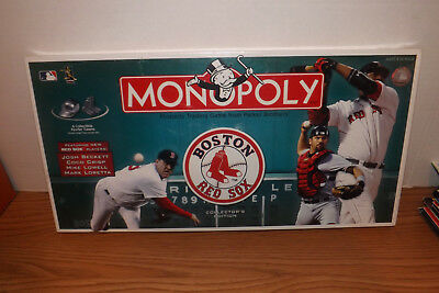 2006 Boston Red Sox Monopoly Board Game Collector's Ed ~ New SEALED