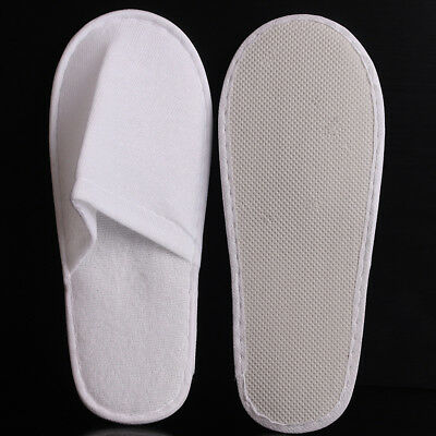 10/50pairs Hotel Disposable Slippers Household Guests Travel SPA Slipper Shoes