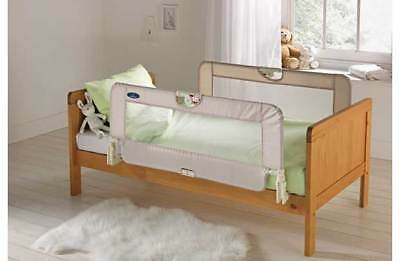 BabyStart Double Childrens Toddler Baby Kids Bed Safety Rail Rails Guard Natural