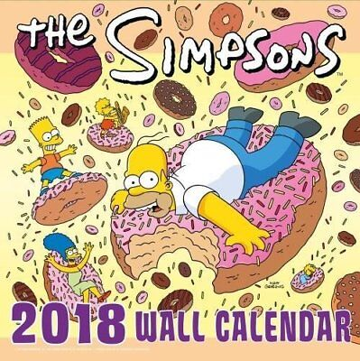 The Simpsons Official 2018 Calendar - Square Wall Format Cale... by The Simpsons