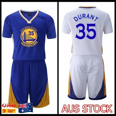 buy popular 1be8c 7da4e KEVIN DURANT #35 Kids Children's Youth Basketball Jersey ...