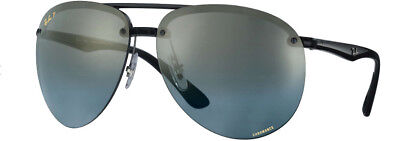 e8753882ec Ray Ban Chromance 4293 Grey Black Blue Gradient Mirror Polarized RB4293CH  876 J0
