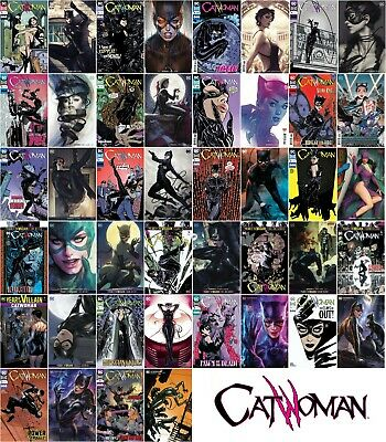 CATWOMAN (2018) - Issues #1 and up - NM - DC - Standard + Artgerm variant covers