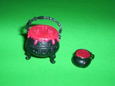 Monster High Doll Cauldron Pot & Drink Cup Playset Replacement Parts Accessories
