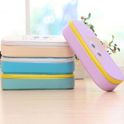 Cute Eye Large Capacity Pen Case Pencil Storage Bag Student Stationery Box B