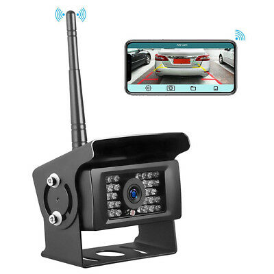 Digital Wireless  HD Monitor Backup Camera Rear View System For Truck RV Bus
