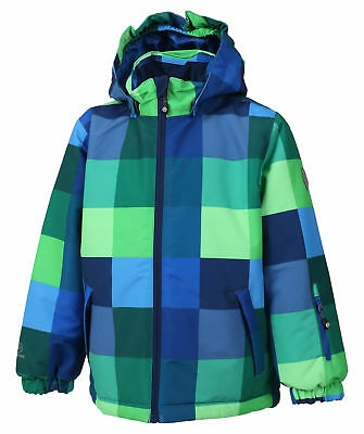 COLOR KIDS Samoa Mini Jacket Kinder Winterjacke Baby Schneejacke blau grün