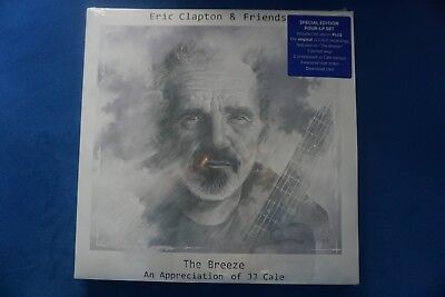 Eric Clapton The Breeze - An Appreciation Of JJ Cale Limited Deluxe Box LP