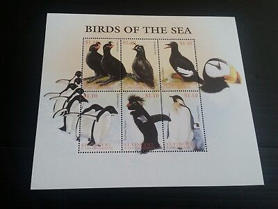 Stvincent 1997 Sea Birds Mnh (B)