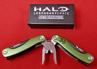 Halo Legendary Crate Brand New Loot Crate UNSC Multi-tool ODST Green