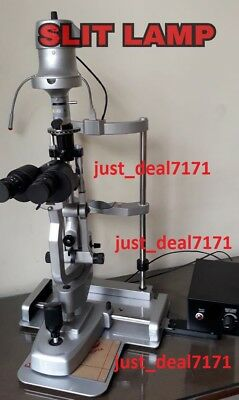 Ophthalmology H/S 2 Step  Slit Lamp SILVER COLOUR APPROVED BY OPHTHALMOLOGIST