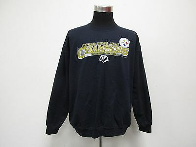 Vtg Pittsburgh Steelers Crewneck Sweatshirt Men's XL X-LARGE Super Bowl XLIII