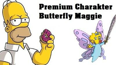 Simpsons Tapped out - Premium Charakter - Butterfly Maggie
