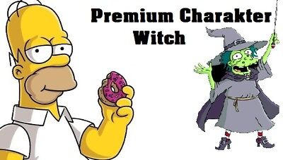 Simpsons Tapped out - Premium Charakter - The Witch