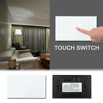 F9E8 Durable Touch Automation LED Light Switch Light Remote Control