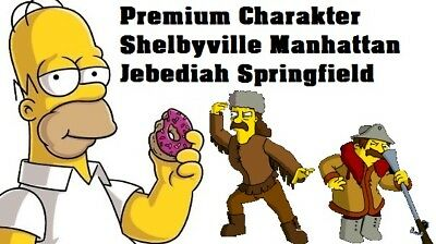 Simpsons Tapped out - Premium - Shelbyville Manhatten - Jebediah Springfield