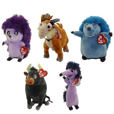 TY Beanie Babies Ferdinand collect all 5 Goat Bull & 3 Hedgehogs to choose from