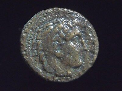 Greek AE19 of Alexander III The Great, Lifetime issue, 336-323 BC,  AC0065