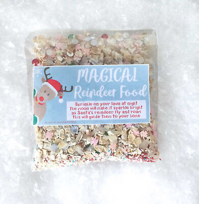 Magical REINDEER FOOD CHRISTMAS EVE Tradition MAGIC DUST Kids Activity SANTA UK