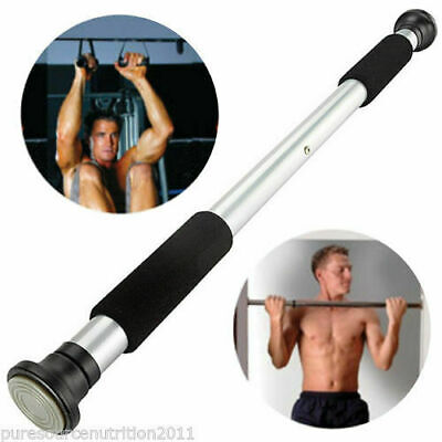 Home Door Exercise Bar Chin Pull Up Training Gym Adjustable Chin up pull up abs