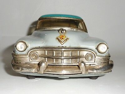 Large 1950 S Cadillac Tin Friction Toy Car Marusan Kosuge Japan