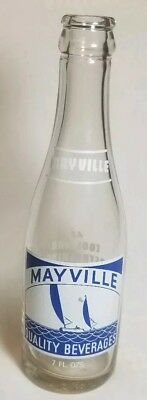 7oz MAYVILLE QUALITY BEVERAGES - MAYVILLE, WI - ACL soda pop bottle