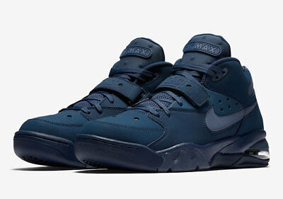 774f305f9d67a7 Nike Air Force Max Charles Barkley Navy Diffused Blue AH5534-400 Men Size  7.5