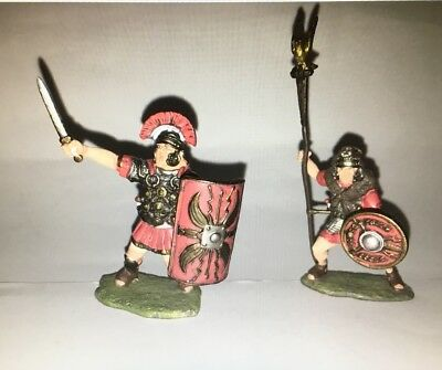 Conte 37101 Ancient War Roman Legion Centurion And Aquilifer Infantry New
