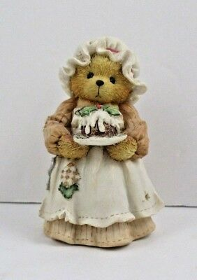 """Cherished Teddies Mrs. Cratchit """"A Beary Christmas and New Year"""" 1994 Enesco"""