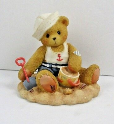"""Cherished Teddies GREGG """"Everything Pails in Comparison to Friends"""" 1996 Enesco"""