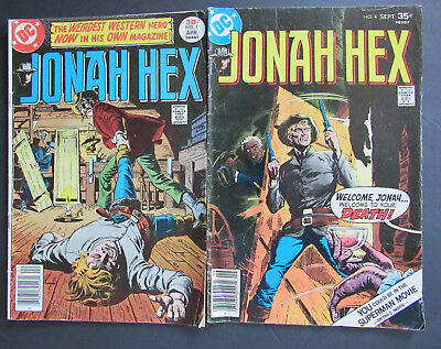 Jonah Hex 1 & 4 (DC 1977) 3.0 - 4.5 condition (GD/VG to VG+)