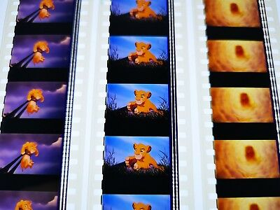 The Lion King 35mm Film Cell Unmounted 3 Strip 5 Frame Pack Choice Lot Scar Zazu