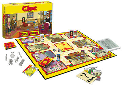 USAopoly CLUE®: Bob's Burgers Board Game