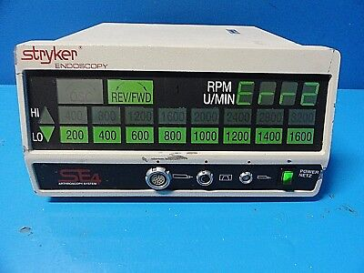 Stryker 270-702 SE4 Arthroscopy Sys. & Small Joint Debrider System Console~16487