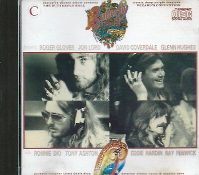 ROGER GLOVER - The Butterfly Ball & Wizard's Convention (1976) - CD -DEEP PURPLE
