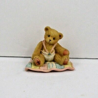 """Cherished Teddies :A Gift to Behold"""" Baby Bear 1997 Enesco #599352"""