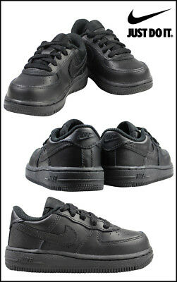 Nike Air Force 1 Black Toddler Shoe s 314194 009 44a56173a
