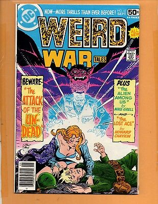 Weird War Tales #67 Sep 1978 FN+