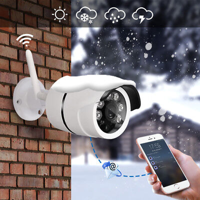Outdoor Waterproof IP Camera WiFi Wireless Surveillance Camera Night Vision Lot