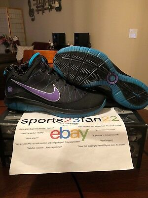 69de6ddbd0245 Nike LeBron VII 7 P.S. Post Season Summit Lake Hornets Size 11.5 Deadstock  NIB