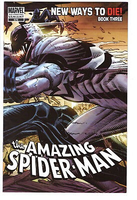 AMAZING SPIDER-MAN #570 - NEAR MINT - Second Printing Wraparound Variant Cover