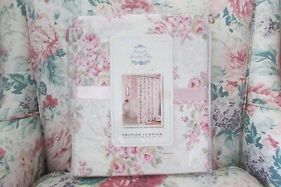 Simply Shabby Chic By Rachel Ashwell Blush Beauty Shower Curtain